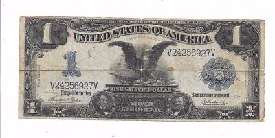 1899 $1 Date Right Large Black Eagle Silver Certificate