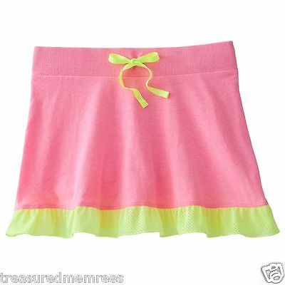SO Brand Skorts Skirt Scooter Shorts ~ Size XS (7) ~ Pink ~ New With Tags