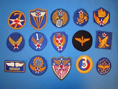 Nice WWII  AAF Patch Lot (13)