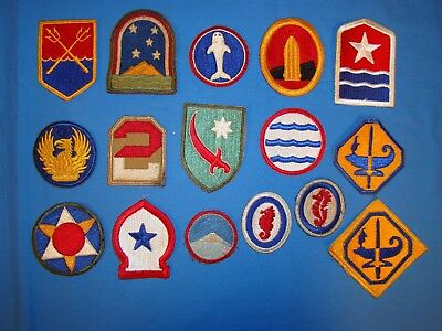 Nice WWII Patch Lot (14)