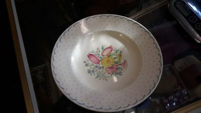 Vintage Susie Cooper  Large Dinner 10 Inches in Diameter Plates Dresden Sprays