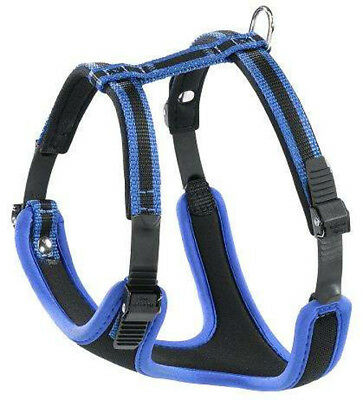 Ferplast Pettorina Ergocomfort Linear Medium per cani - Colore Blu