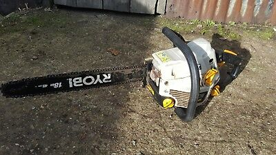 ryobi chainsaw starts and runs firewood logs not stihl husqvarna