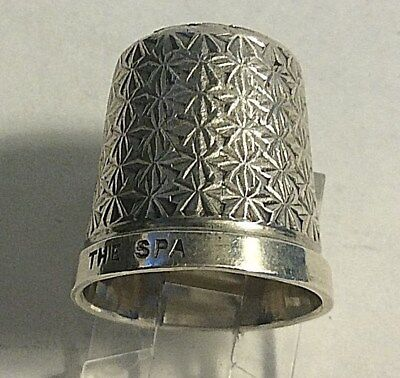 Antique Henry Griffith & Sons 1927 * THE SPA * Quilted Design  Thimble Sewing 17
