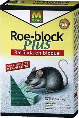 ROE BLOCK PLUS 224 g MASSO