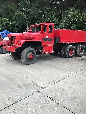 1972 AM General M54A-1C 6x6 5 ton With Water Tank -