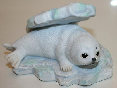 Maruri 1992  Porcelain Harp Seal from Polar Expedition Series - SEE PHOTOS