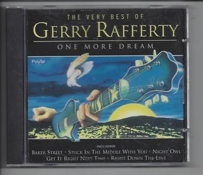 GERRY RAFFERTY One More Dream - The Very Best Of CD (1995) Includes Baker Street
