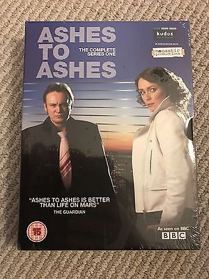 New ASHES TO ASHES Complete Series 1 [Region 2] - DVD - sealed