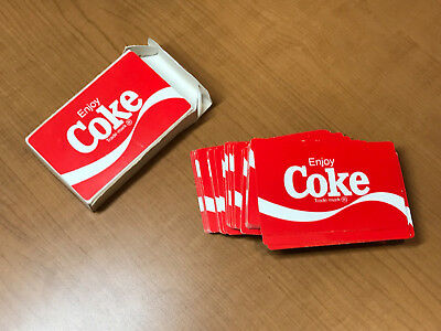 Pre-UPC Deck of Coca-Cola Coke Hoyle Playing Cards 1980s or 1990s, in Box, EX