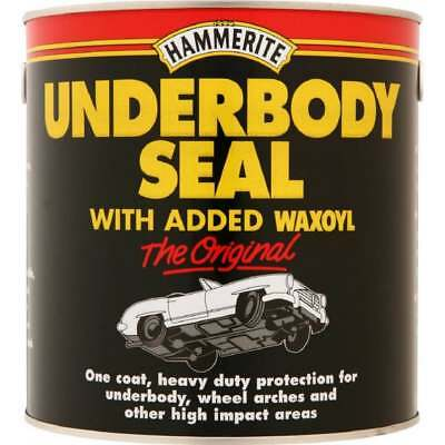 Hammerite Under Body Seal 2.5LTR Rust Treatment Contains Waxoyl Brush On Paint