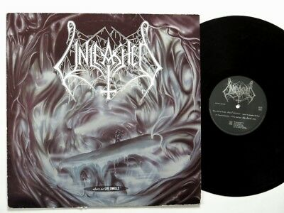 UNLEASHED - Where No Life Dwells LP 1st press death metal