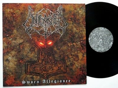 UNLEASHED - Sworn Allegiance LP 1st press dismember grave