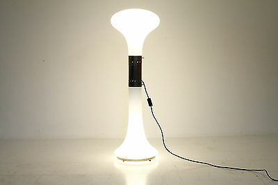 Large Mazzega Floor Lamp by Carlo Nason Itay 60s Glas Stehleuchte Lampe