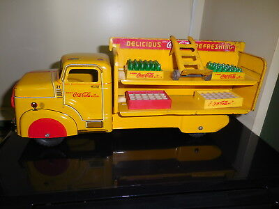 Vintage Marx Pressed Steel/metal  Coca Cola/coke Toy Truck
