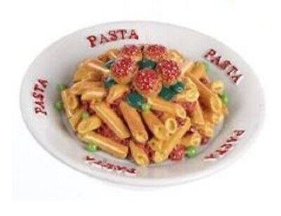 "Lovvbugg Penne Pasta Bowl Mini for 18"" American Girl Doll Food Accessory"