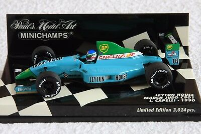 1:43 PMA Minichamps Leyton House March CG901, #16 Ivan Capelli, 1990