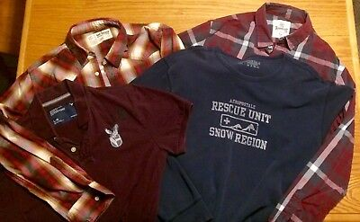 Mens Lot of 4 shirts size large