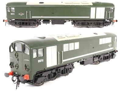 Heljan 28071 Co-Bo D5711 BR Green Livery & Boxed