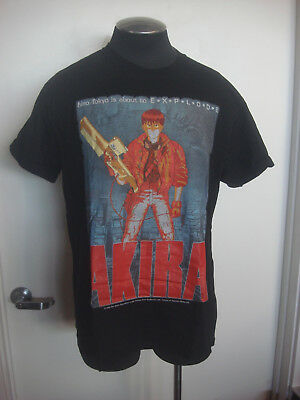 Original Vntg Akira T-Shirt 1988 Fashion Victim Neo Tokyo Is About To Explode L