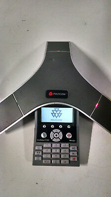 Polycom SoundStation IP 7000 Conference Phone 2201-40000-001 PoE AS IS UNTESTED
