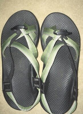 Chaco Green Strappy Sport Sandals Men's Sz 9