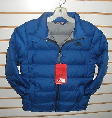 The North Face Boys Andes Down Winter Jacket-Style Chq6- Cobalt Blue -S,m,l,xl