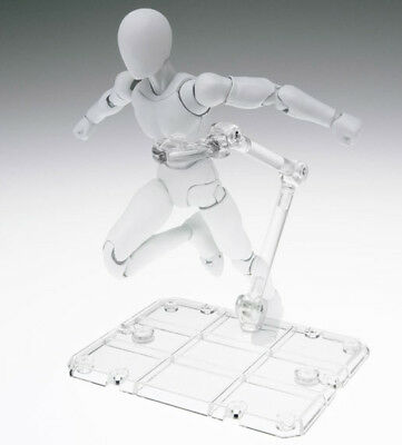 Tamashii Stage Act 4 Humanoid Clear Stand set of 3 for S.H. Figuarts Bandai
