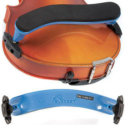 Everest Blue ES Series 4/4 Violin Adjustable Shoulder Rest