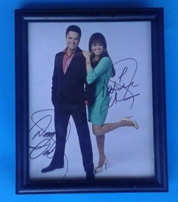~RARE~ DONNY or DONNIE & MARIE OSMOND AUTOGRAPH/SIGNED PHOTO PHOTOGRAPH