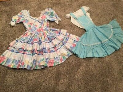 square dance clothing-over 50 dresses, skirts, blouses, men's ties