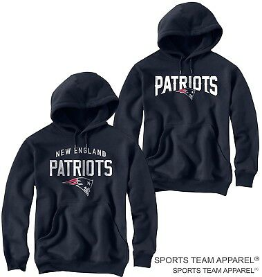 New England Patriots Jersey Navy Blue Hoodie Sweatshirt