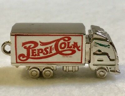 Pepsi Cola Truck Trucking Key Chain Pendant Collectible Charm Pepico Limited