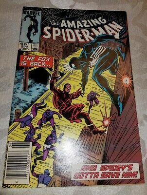 Amazing Spider-Man #265 - 1st Silver Sable! -(June 1985 )