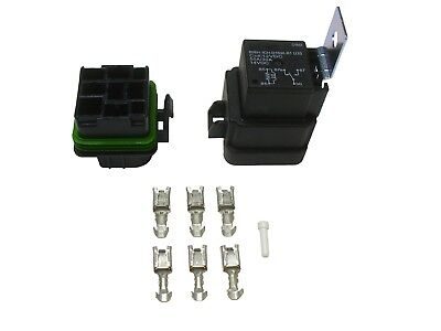 Song Chuan Waterproof 5 Pin Mini Relay and Connector Kit SPDT 50/30 amp 12V