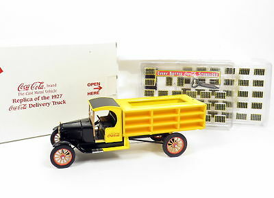 Nib Danbury Mint Coca Cola Brand Die-Cast Metal Replica 1927 Delivery Truck 1:24