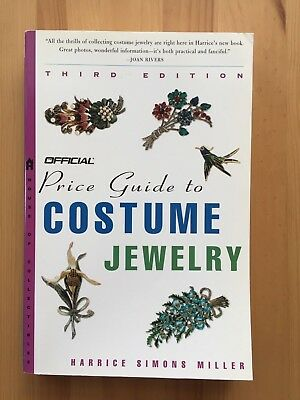 Official Price Guide to Costume Jewelry Harrice Simons Miller 3rd Ed. 2002