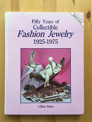 Fifty Years of Collectible Fashion Jewelry 1925-1975, HC BY Lillian Baker
