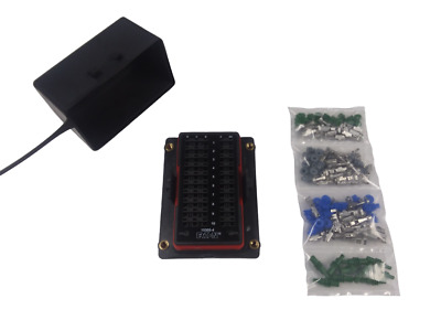 Bussmann RTMR 15303-4 Waterproof Fuse Relay Panel Box with Terminas 12V Kit