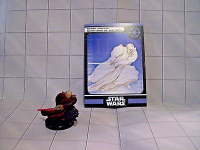 WotC Star Wars Miniatures Darth Sidious, Dark Lord of the Sith, CotF 41/60,Sep,R