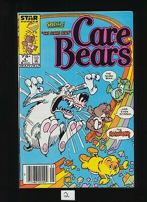 Care Bears #4 Star Comics Volume 1,  May 1986! SEE SCANS! UNCIRCULATED / UNREAD!