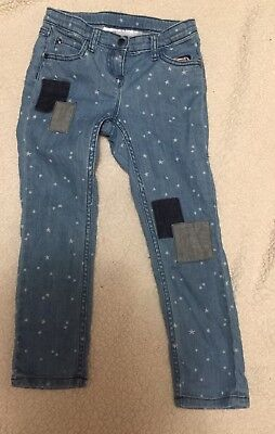 Hanna Andersson Jeans 120 Stars/ Patches