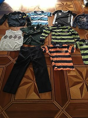 bulk boys clothes jackets, tshirts, trousers 6-9 y.old, new and exc used cond