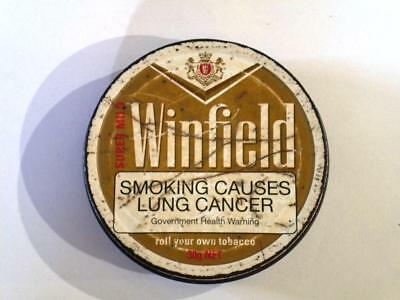Old Tobacco tin, Winfield Super Mild. Fair condition 30g net.