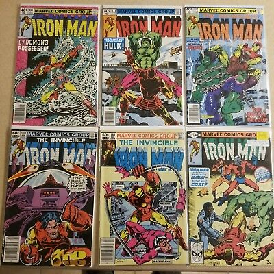 Iron Man Bronze Age Lot of 23 issues