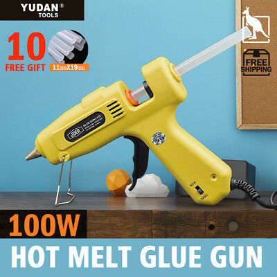 100w Glue Gun Electric Heating Craft Hot Melt Glue Gun scrapbook +10Glue Sticks