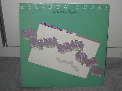 "Maxi Ellison Chase ""Welcome to tomorrow"" (CBS), Pop der 80er!"