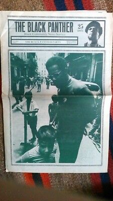 VINTAGE Black Panther Party Newspaper Oct 18, 1969