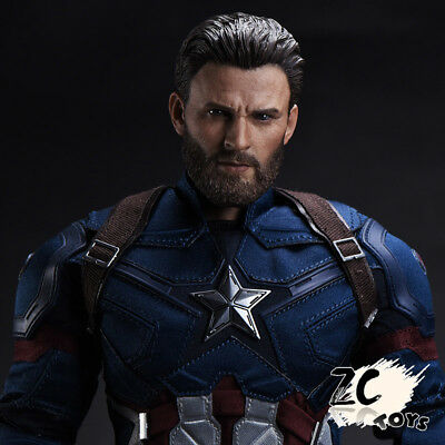 ZCTOYS 1/6 T-05 captain america captain america fit For Hot Toys BODY