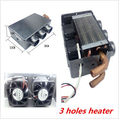 Universal 80W Heating Vehicle Car Compact Heater Portable Defroster Demister 12V